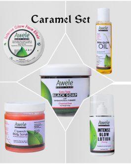 Caramel Set (Chocolate Glow)