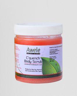 Cquench Body Scrub
