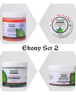 Ebony Glow Set